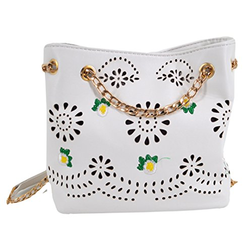 Millya, Borsa a zainetto donna, white (Bianco) - bb-01545-01C white