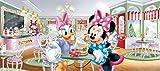 1art1 Micky Maus - Frühstück Mit Minni Und Daisy Fototapete Poster-Tapete 202 x 90 cm
