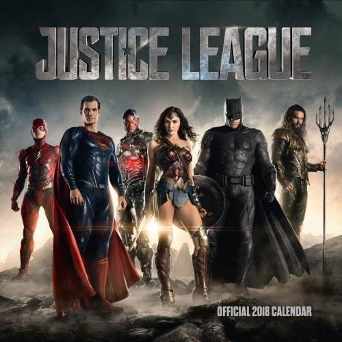 Justice League Official 2018 Calendar - Square Wall Format par Justice League