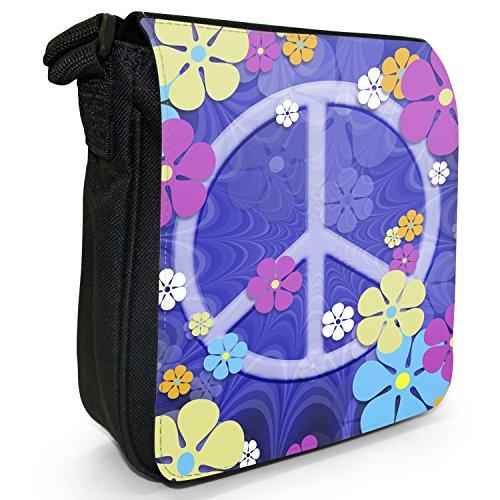 Hippy Flower Power Shoulder Bag