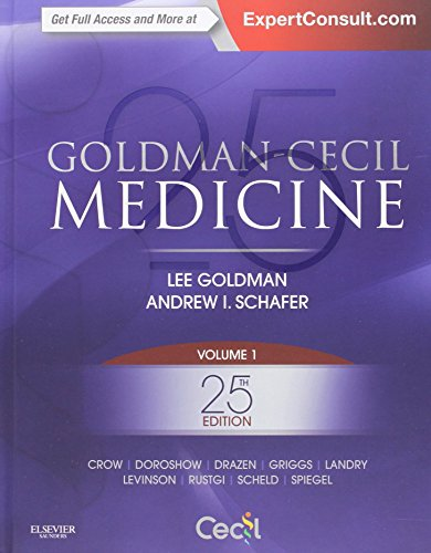 Goldman-Cecil Medicine,  2-Volume Set, 25e (Cecil Textbook of Medicine)