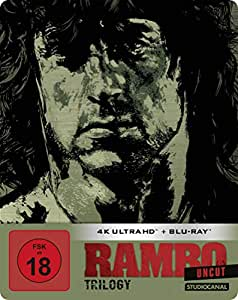 Rambo Trilogy / Uncut / Limited SteelBook Edition  (4K Ultra HD) (3 BR4K) (+ 3 BRs) [Blu-ray]