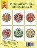 Image de Alegria: Libro Para Colorear Para Adultos (Mandalas Fantasticos, Volumen 2): Un Maravilloso Libro de Arte Terapia Antiestres con Mandalas Zen Para Pin