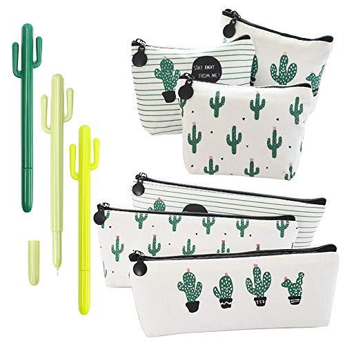 RETON 9 Paquetes de Artículos de Papelería para Cactus - 3 x...