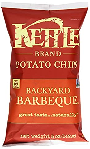 Kettle Chips Backyard Bbq Potato Chips (15x5 Oz)