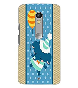 PrintDhaba Cartoon D-3363 Back Case Cover for MOTOROLA MOTO X PLAY (Multi-Coloured)