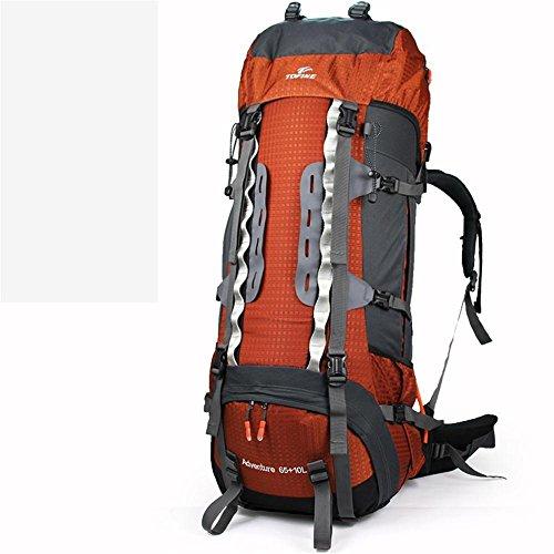 ALUK-Outdoor-Zelt Camping Wandern Rucksack den professionellen Berg Taschen kastanienbraun