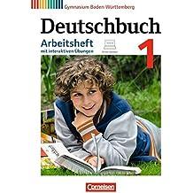 Deutschbuch Gymnasium - Baden-Württemberg - Bildungsplan 2016: Band 1: 5. Schuljahr - Arbeitsheft mit Lösungen und interaktiven Übungen