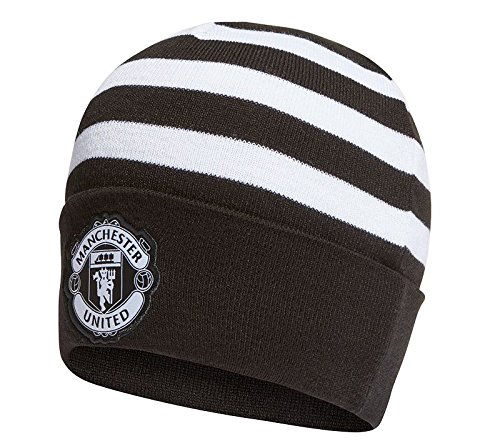 Adidas Mufc 3S Woolie Manchester United Fc Hat, Black, One Size