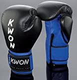 KWON Boxhandschuh KO Champ 10oz schwarz/rot