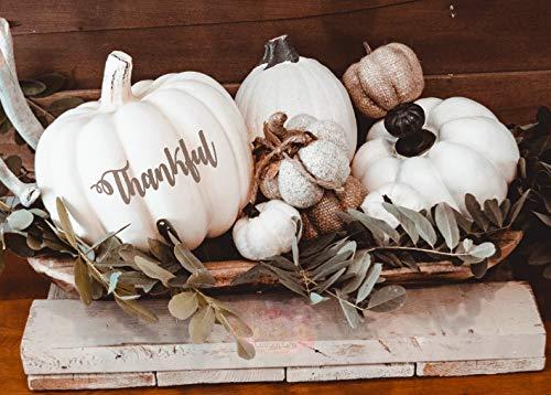 bis-Aufkleber, Herbst-Tischdekoration, Thanksgiving, Halloween-Dekoration, Dankeschön ()