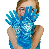 Prinzessin Handschuhe - türkis Eisprinzessin Handschuhe - Elsa Handschuhe - Lucy Locket