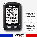 iGPSPORT IGS20E - Le Compteur GPS Simplifié - Ordinateur de vélo sans Fils Vitesse Calories - Strava