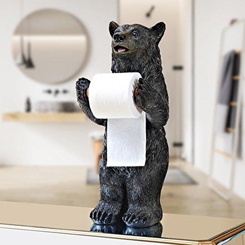 Europäischer stil Kreativ Tragen Bad-wc-papier-rollenhalter,Küche Gewebe-halter Restaurant Toilette Wc-papierhalter Punch-frei-A (Tragen Wc-papierhalter)