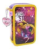 Principesse Disney Violetta-Astuccio a 3 piani con glitter 40237 (CIFE)