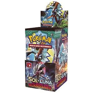 The Pokémon Company Caja de 18 sobres de: Sol y Luna: Albor de Guardianes Sobre - Español POSMGR02D