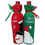 Lumanuby 1 Paar Flaschen Beutel Flanell Material Bottlebag...