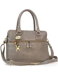 """Große Schultertragetasche """"Victoria"""" von Catwalk Collection"""
