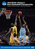 1993 Ncaa Championship North Carolina Vs Michigan [Import USA Zone 1]