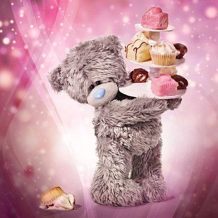 me-to-you-tatty-teddy-holographische-3d-karte-geburtstagsbar-mit-blumencupcakes