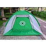 Erduo Indoor Golf Training Aids Tragbare Faltbare Golf Schlagen Käfig Garten Wiese Golf Übungsnetz - Grün 2m