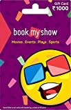 BookMyShow Gift Card-Rs.1000