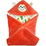 MEE 'N' MYY Baby Wraps With Hood, Wrap Cum Sleeping Bag, Blanket For New Born (0-5 Months)