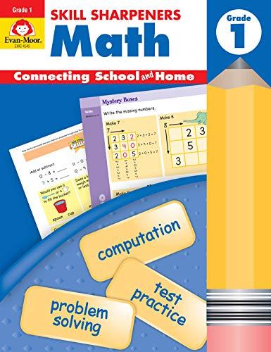 Math, Grade 1 (Skill Sharpeners: Math) (Grade Math 1 Skills Basic)