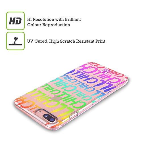 Head Case Designs Blah Slang Da Giovani Cover Retro Rigida per Apple iPhone X Chill