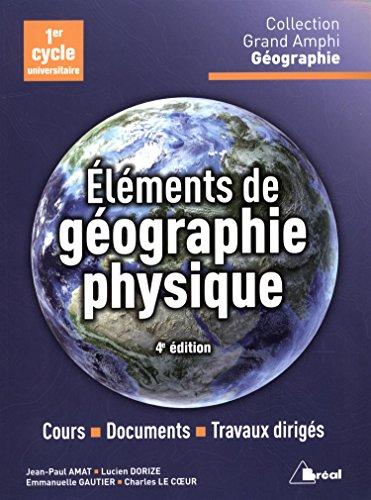 Eléments de géographie physique
