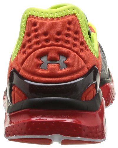 Under Armour Ua Charge Rc 2 Herren Laufschuhe Rot - Rouge (Graphite/Noise/Yellow)