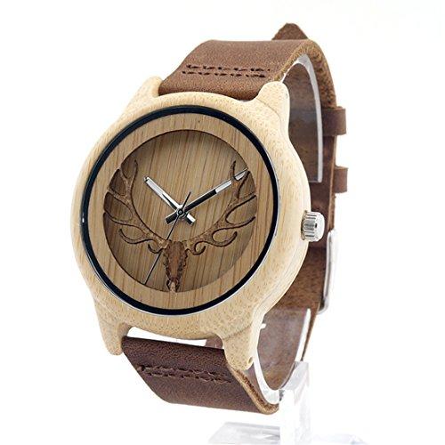 souarts-montre-a-quartz-unisex-bracelet-en-bambou-bois-motif-cerf-cuir-manuel-marron-24cm-1pc