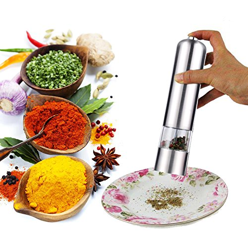 blufied-pepper-salt-spice-grinder-mill-electric-automatic-auto-stainless-steel-grinder-shaker-mill-w