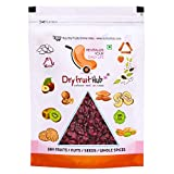 Dry Fruit Hub Dried Cranberries Slices, Cranberries Without Sugar, 400gm