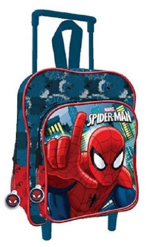 Zaino trolley asilo spiderman 2017