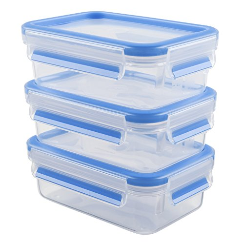 emsa-508570-lot-de-3-boites-alimentaires-055-litre-transparent-bleu-clip-close