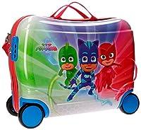 Pj Masks Super Pigamini 4239961 Valigia Per Bambini, 50 Centimetri, 34 Litri, Multicolore, Gattoboy, Gufetta, Geco