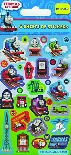 Paper Projects Thomas and Friends Party Pack Stickers