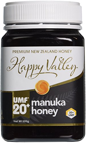 Happy Valley UMF 20+ (MGO 829+), Manuka roher Honig, 500g
