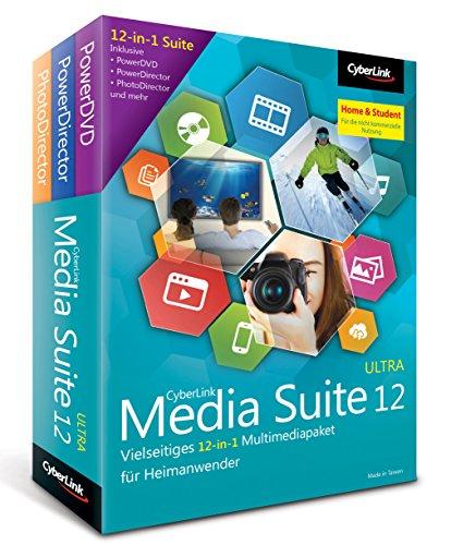 Preisvergleich Produktbild Cyberlink Media Suite 12 Ultra Home&Student