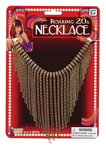 Forum Novelties 20er Halskette Damen gold One Size ()