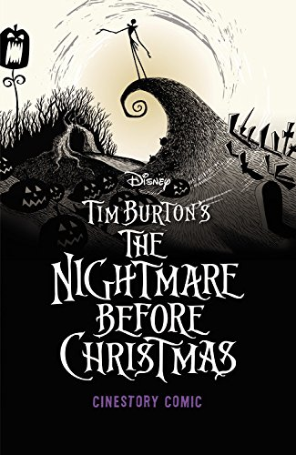 Tim Burton's the Nightmare Before Christmas Cinestory Comic por Joe Books Inc.