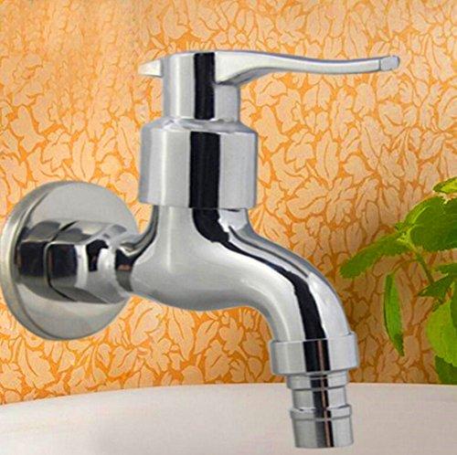iable Machine à laver Jardin rapide ouverture simple robinet eau froide cuivre poli finition meuble 1/5,1 cm
