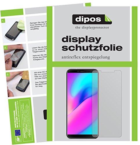 dipos Cubot J3 Pro Schutzfolie - 6X Displayschutzfolie Folie Matt