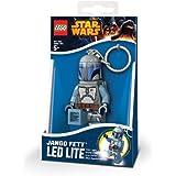 Santoki LEGO Star Wars LED Lite Key Light Keychain - Jango Fett
