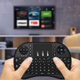 ProductFox MINI KEYBOARD-Mini H7 2.4GHz Wireless Entertainment Keyboard With Touchpad For PC, Pad, Andriod TV Box, Google TV Box, Xbox360, PS3 & HTPC/IPTV (Black)