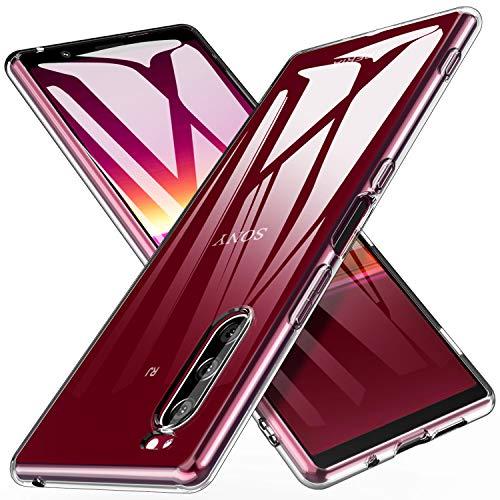 iBetter Coque pour Sony Xperia 5, [Anti-Jaune][Anti-Slip][Résistant aux Rayures] Housse Etui, Soft Premium TPU Coque, pour Sony Xperia 5 Smartphone.Transparent