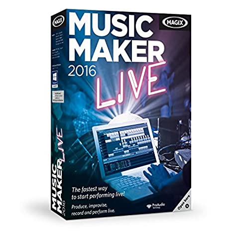 MAGIX Music Maker 2016 Live - Loop-based music software for