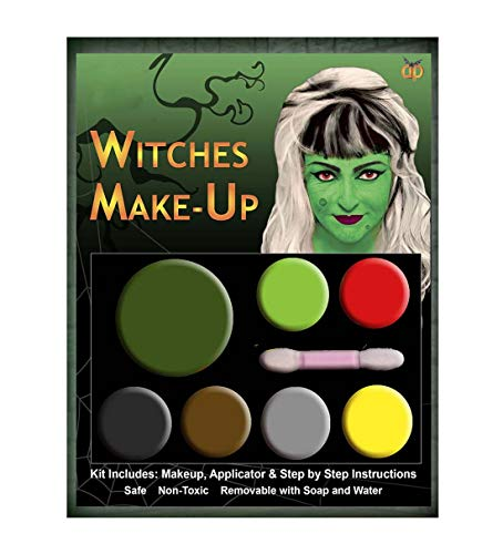 Islander Fashions Hexe Zombie Teufel Vampir Multi Palette Kit Hexe Halloween Make-up Zubeh�r Hexe One Size