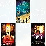 Cormoran Strike Series Robert Galbraith Collection 3 Books Bundle (The Cuckoo's Calling, The Silkworm: 2, Career of Evil) by Robert Galbraith (2016-11-09)